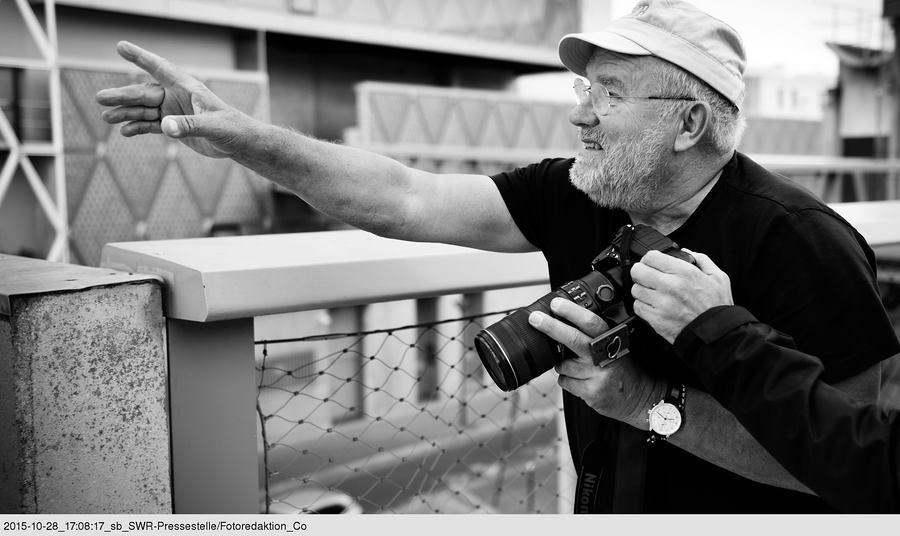 Peter Lindbergh. © SWR/Till Vielrose