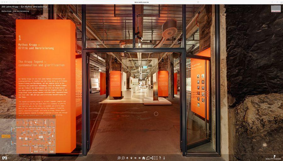 Eingang Ruhr Museum