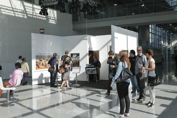Photokina: Sales Gallery für Fotografen, Boulevard Nord