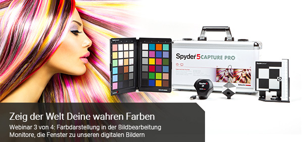 Webinar am 03.11.2016: Farbdarstellung in der Bildbearbeitung