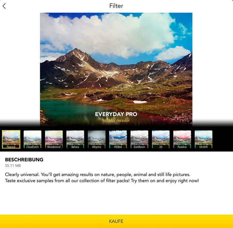 Im Test: iPhone-App Filterra