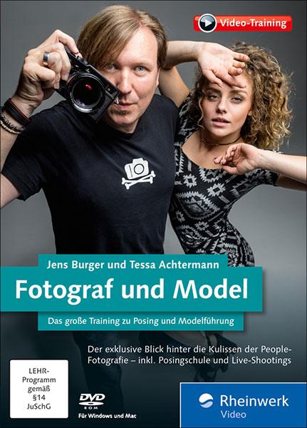 Rezension: Jens Burger und Tessa Achtermann. Fotograf und Model