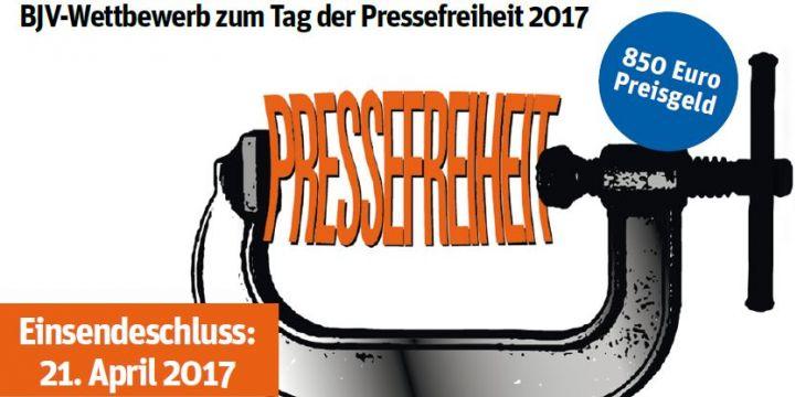 BJV-Wettbewerb zum Tag der Pressefreiheit