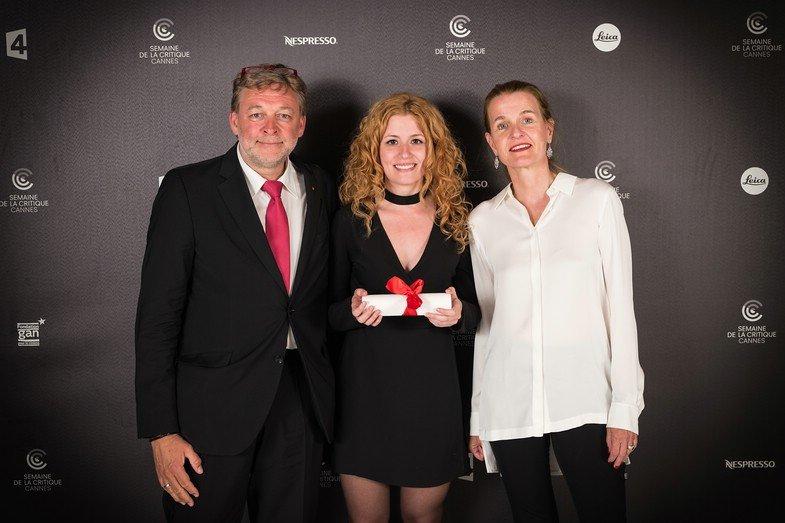 "Laura Ferrés erhält den ""Leica Cine Discovery Prize"" der Leica Camera AG und CW Sonderoptic GmbH"