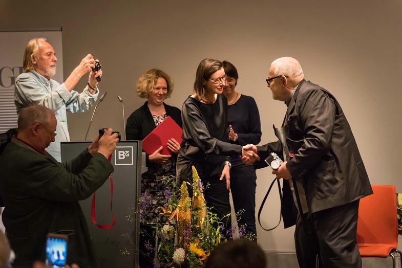 Antanas Sutkus erhielt den Dr.-Erich-Salomon-Preis 2017 der DGPh