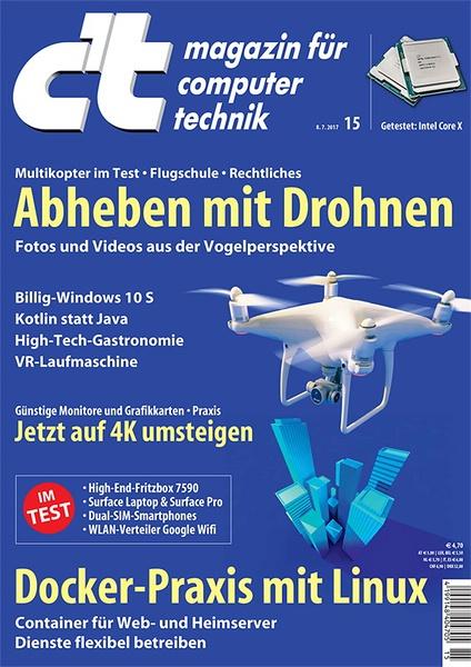 Drohnen im c't-Test