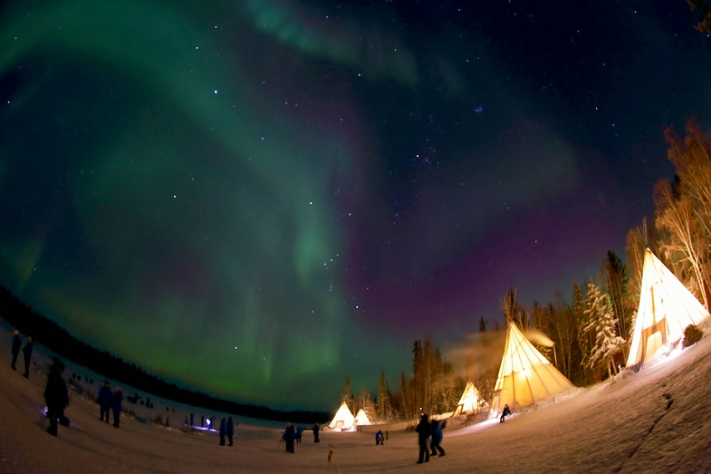TV-Tipp: Zu den Polarlichtern in Kanada