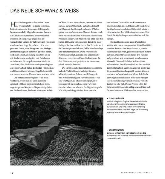 Rezension: Michael Freeman. Schwarzweiss-Fotografie