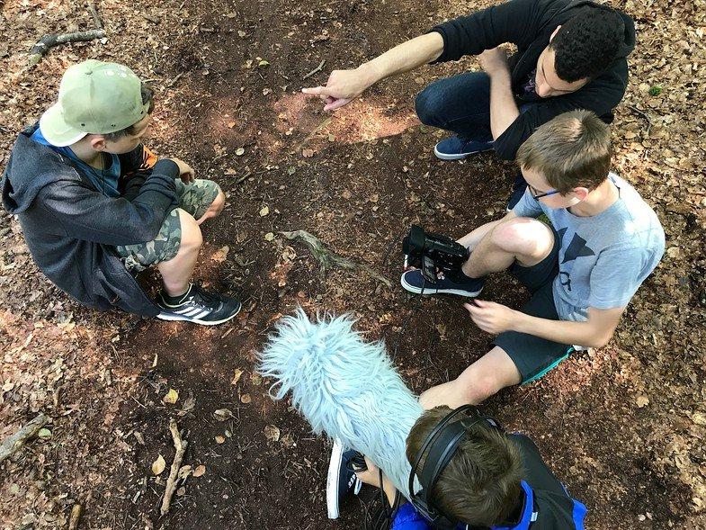 Abenteuer NaturfilmCamp auf dem Darß