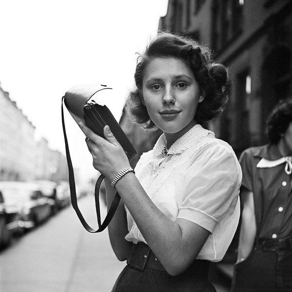 Vivian Maier. In her own hands