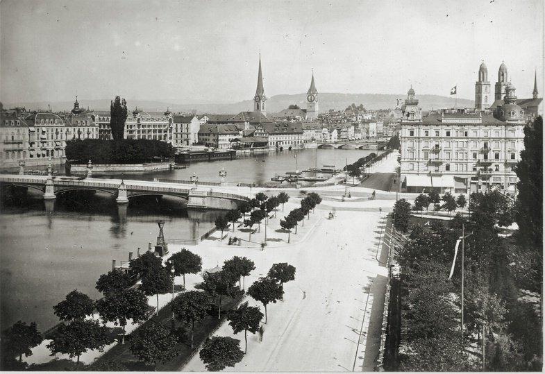 Zürich Schwarz auf Weiss