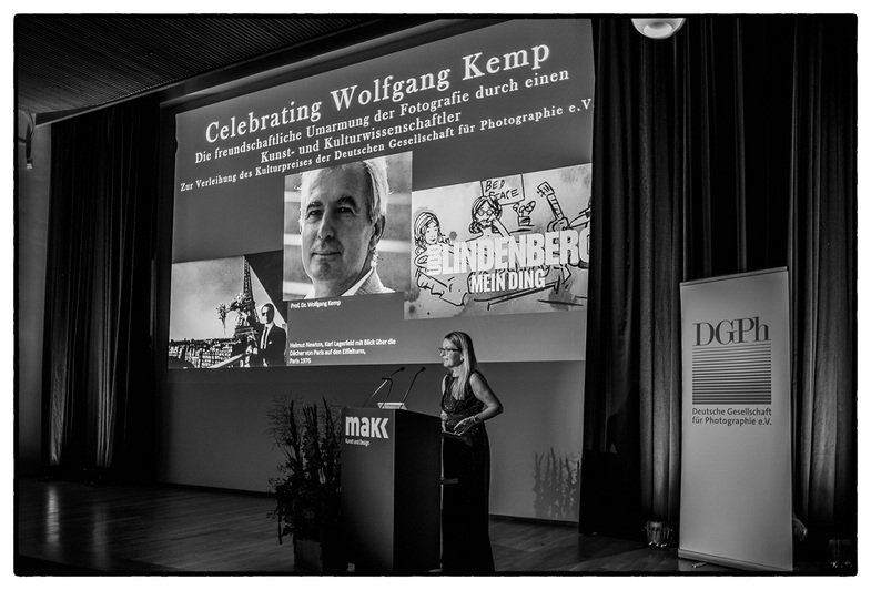 Wolfgang Kemp erhielt den DGPh Kulturpreis 2018