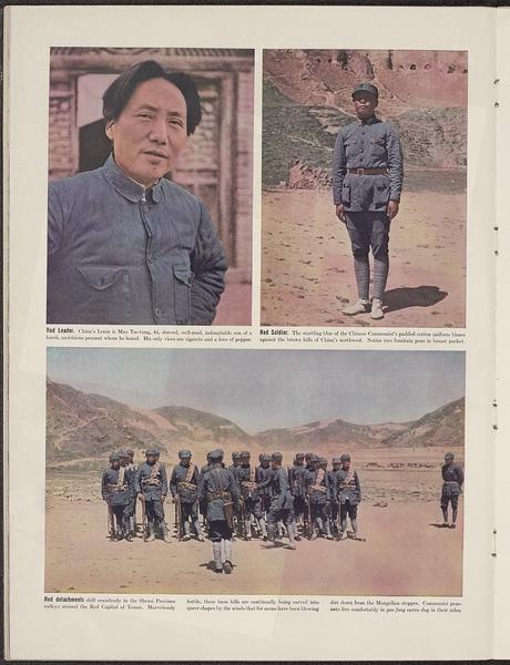 Walter Bosshard, Robert Capa. Wettlauf um China