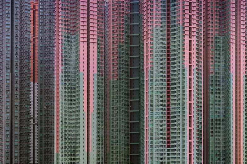 Michael Wolf. Life In Cities