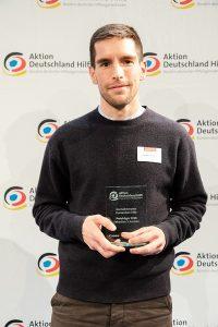 Sebastian Schneider erhält Journalistenpreis Humanitäre Hilfe