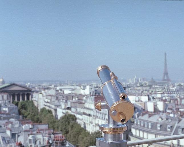 PACertified: Portrait- und Fashionfotografie in Paris. Aussicht auf die Dächer von Paris