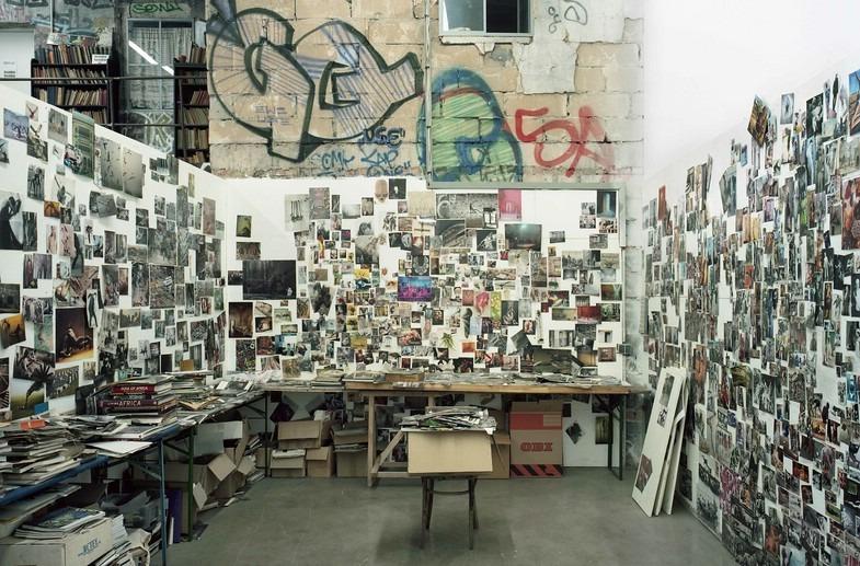 Stefanie Bürkle. Atelier + Labor. Atelier / Studio Jonas Burgert