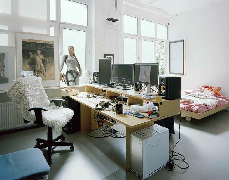 Stefanie Bürkle. Atelier + Labor. Atelier / Studio Bjørn Melhus