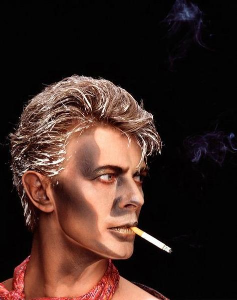 Greg Gorman. The Outsiders David Bowie