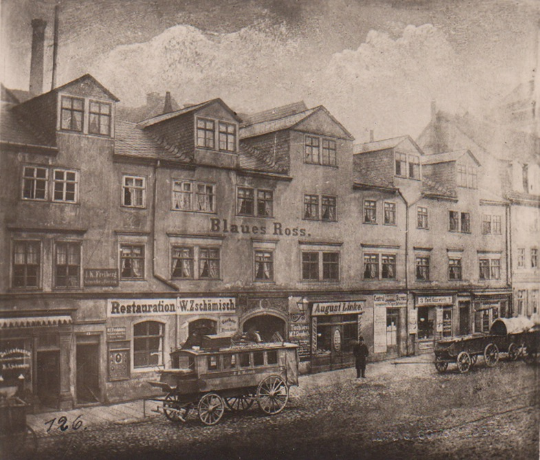Hermann Walter. Leipzig im 19. Jahrhundert