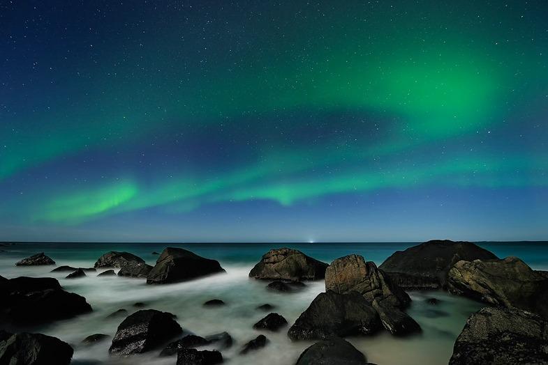 LYS. Eine Hommage an das Licht des Nordens. Aurora Borealis