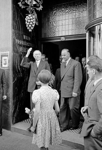 Der Kanzler kommt! Konrad Adenauer