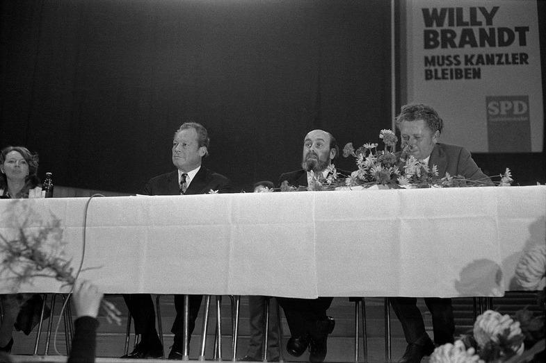 Der Kanzler kommt! Willy Brandt