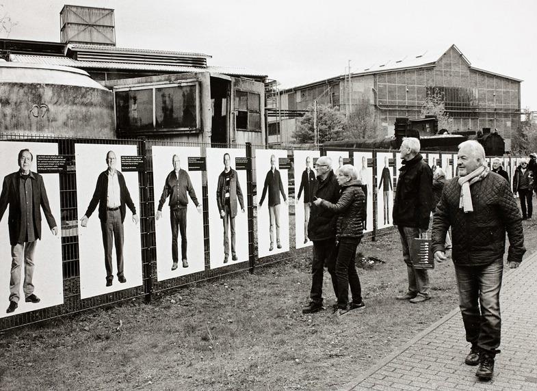 Berthold Socha. Fabrik. Denkmal. Forum