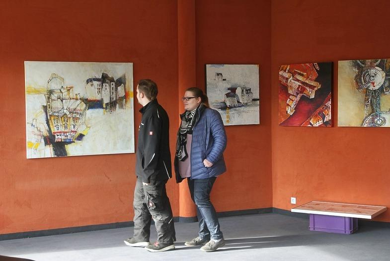 Dortmund: Malerei trifft Fotografie